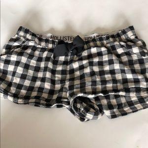 Hollister Pajama Shorts (Price Firm)